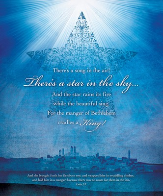There's A Star In the Sky (Luke 2:7) Large Bulletins, 100  -