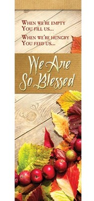 We Are So Blessed (Psalm 103:1-2) Bookmarks, 25  -