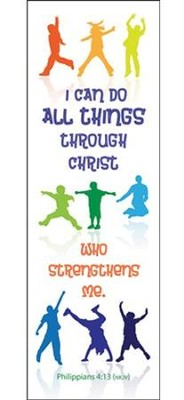 I Can Do All Things (Philippians 4:13, NKJV) Bookmarks, 25  -
