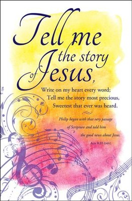 Tell Me the Story (Acts 8:35, NIV) Bulletins, 100  -