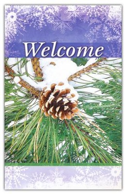 Welcome (Pinecone), Welcome Pew Cards, Package of 25  -