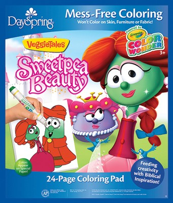Princess of the King Coloring Pad, VeggieTales  -
