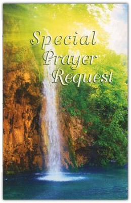 Special Prayer Request (Waterfall)Pew Cards Package of 25  -