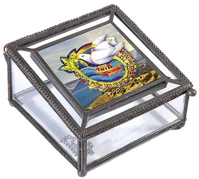 Glass Gift Box: Holy Land Pictures  -