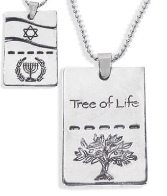 Tree of Life Dog Tag  -