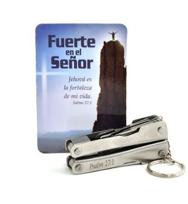 Strong in the Lord Multi-Tool, Spanish  -