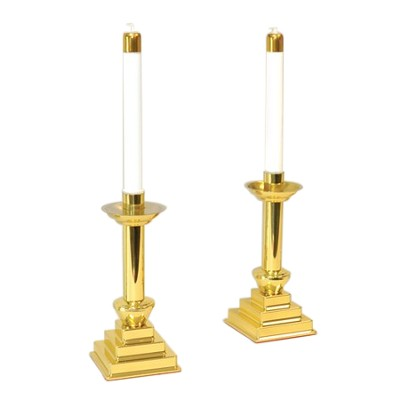Cross Of Salvation Candlesticks (set of 2)  -