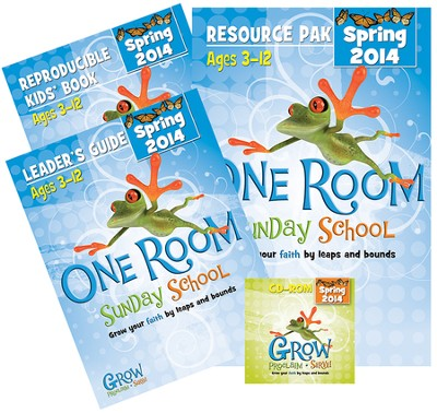 One Room Sunday School Kit Spring 2014: Grow Your Faith by Leaps and Bounds  -