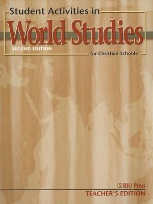 BJU Heritage Studies 7: World Studies, Student Activities   Teacher's Edition  -