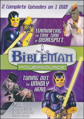 Bibleman Powersource: Terminating the Toxic Tonic of Disrespect /  Play DVD #8  -