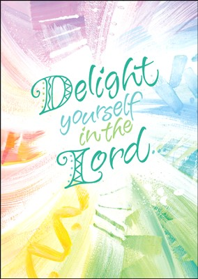 Delight Yourself in the Lord Cards, Box of 15  -