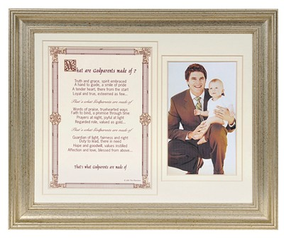 What are Godparents Made of Photo Frame  -