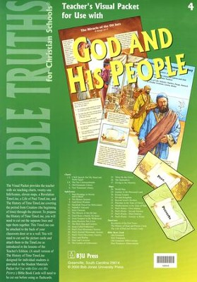 BJU Bible Truths 4: God and His People Visual Packet    -