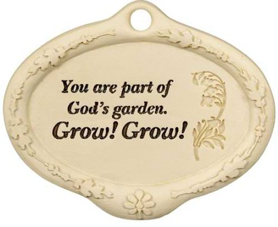 You Are Part of God's Garden Plant Pick  -