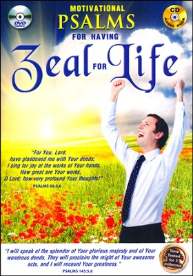 Motivational Psalms for Having Zeal for Life: DVD & CD  -     By: David & The High Spirit