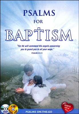 Psalms for Baptism: DVD & CD  -     By: David & The High Spirit