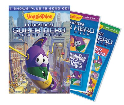 Larry-Boy Superhero Power Pack   -