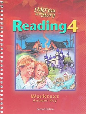BJU Reading 4, Worktext Teacher's Edition   -