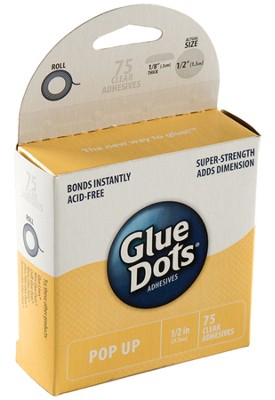 Pop-Up Glue Dots (1/2), pack of 75   -