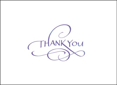 Thank You Notes, Box of 15  -     By: Teri Martin