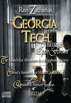 A Georgia Tech Open Forum - CD   -     By: Ravi Zacharias