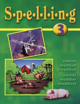 BJU Spelling 3, Student Worktext    -
