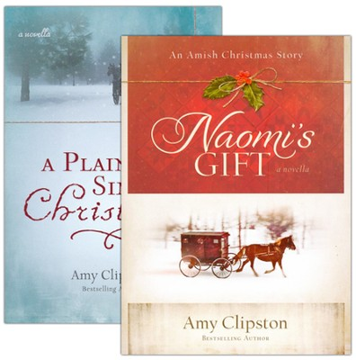 Amish Christmas Collection, 2 Volumes   -     By: Amy Clipston