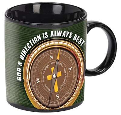 God's Direction Is Always Best Mug  -