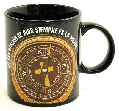 God's Direction Is Always Best Mug, Spanish  -