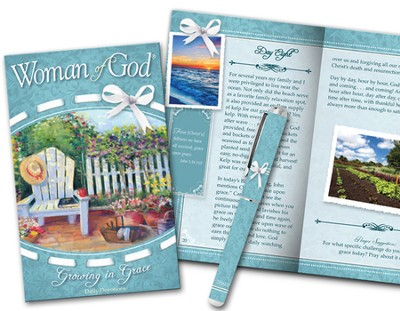 Woman of God Devotion Book and Pen Gift Set  -