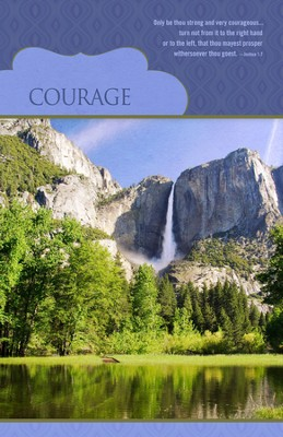 Courage (Joshua 1:7) Bulletins, 100  -
