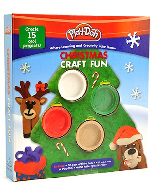Christmas Play-Doh Craft Fun   -