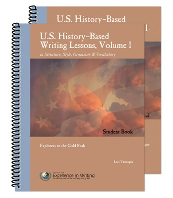 US History-Based Writing Lessons, Explorers to the Gold Rush,  Volume 1 Set  -     By: Lori Verstegen