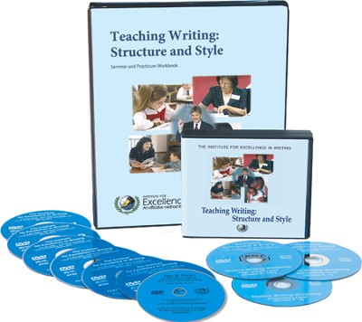Teaching Writing: Structure and Style--10 DVD's and Workbook  -     By: Andrew Pudewa