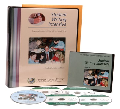 The Student Writing Intensive Level A (4 DVDs & Student Materials)  -     By: Andrew Pudewa