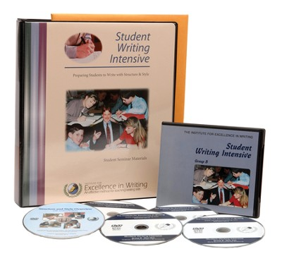 The Student Writing Intensive Level B (4 DVDs & Student Materials)  -     By: Andrew Pudewa