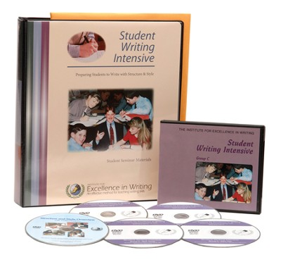 The Student Writing Intensive Level C (4 DVDs & Student Materials)  -     By: Andrew Pudewa