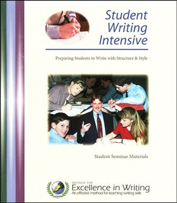 Student Writing Intensive, Level A, Notebook Only   -     By: Andrew Pudewa