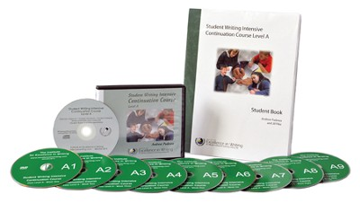 The Student Writing Intensive Continuation Course Level A (9 DVDs & 1 CD-ROM)  -     By: Andrew Pudewa
