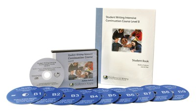 The Student Writing Intensive Continuation Course Level B (9 DVDs & 1 CD-Rom)  -     By: Andrew Pudewa