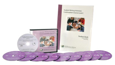 The Student Writing Intensive Continuation Course Level C (9 DVDs & 1 CD-Rom)  -     By: Andrew Pudewa