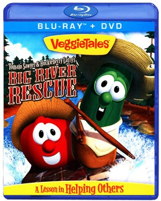 Tomato Sawyer & Huckleberry Larry's Big River Rescue, Blu-ray/DVD   -