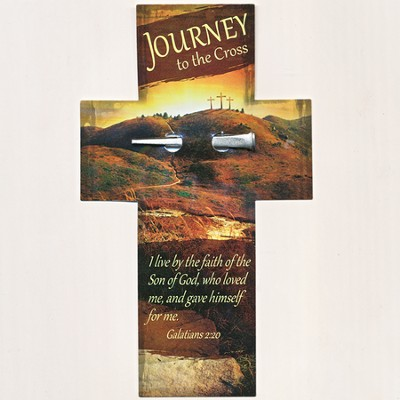 Journey to the Cross Bookmark and Nail  -