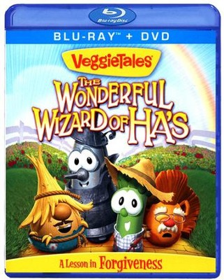 The Wonderful Wizard of Ha's, Blu-ray/DVD   -