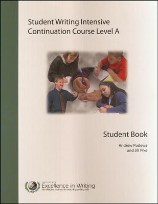 Student Writing Intensive Continuation Course Level A Extra Student Handout Packet  -