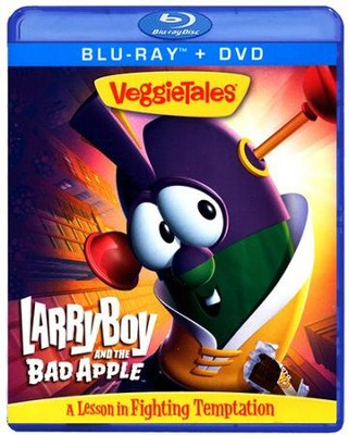 LarryBoy & the Bad Apple, Blu-ray/DVD   -
