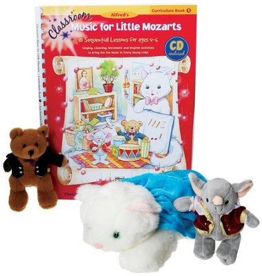 Music for Little Mozarts Classroom Deluxe Kit & Audio CD  -