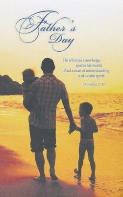 Father's Day (Proverbs 17:27, NKJV) Bulletins, 100  -