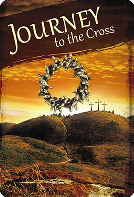 Journey to the Cross, Crown of Thorns Lapel Pin on Card  -
