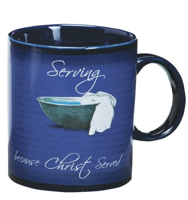 Thanking God for Your Servant Heart Mug  -